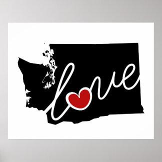 ¡Amor de Washington!  Regalos para los amantes de Impresiones