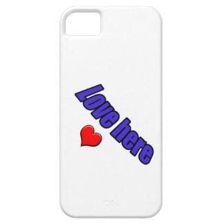 Amor del amor del amor él aquí entonces iPhone 5 protector