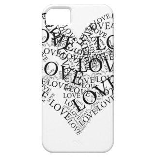Amor del AMOR del amor iPhone 5 Carcasas