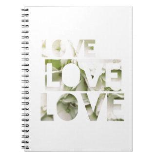 Amor del amor del amor cuaderno