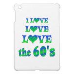 Amor del amor los años 60 iPad mini cárcasa