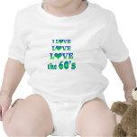 Amor del amor los años 60 trajes de bebé