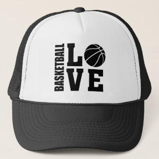 Amor del baloncesto, baloncesto gorra de camionero