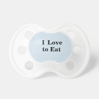 Amor del bebé I para comer el pacificador Chupete