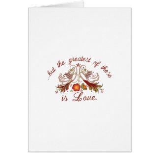 Amor del boda tarjeta de felicitación