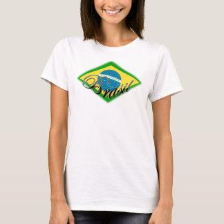 amor del capoeira de la samba del Brasil el Brasil Camiseta