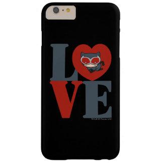 AMOR del Catwoman de Chibi Funda Barely There iPhone 6 Plus