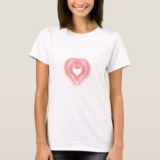 Amor del corazón camiseta