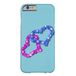 Amor del corazón de la corona funda barely there iPhone 6