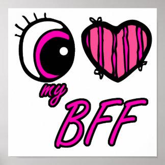 Amor del corazón I del ojo de Emo mi mejor amigo d Póster
