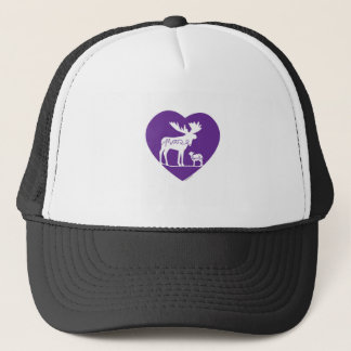 Amor del cordero de los alces gorra de camionero