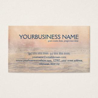 Amor del delfín tarjeta de negocios