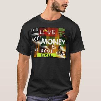 Amor del dinero camiseta