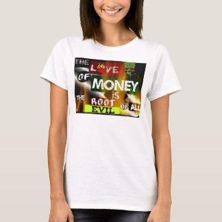 Amor del dinero - camiseta