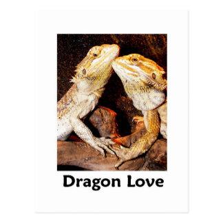 amor del dragón postal