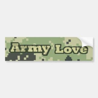 Amor del ejército pegatina para coche