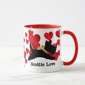 Amor del escocés taza