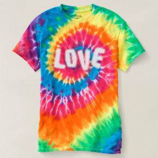 Amor del flower power del hippy camiseta