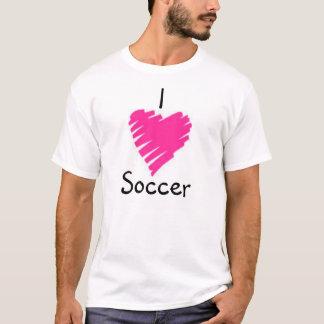 Amor del fútbol camiseta