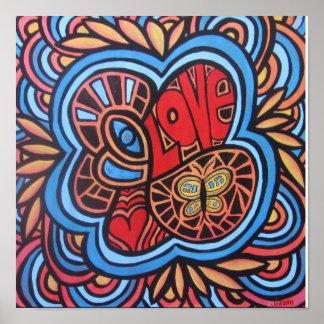 Amor del Hippie Poster