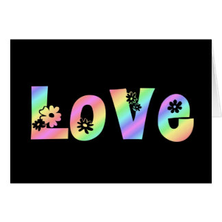 Amor del Hippie Felicitacion