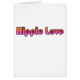 Amor del Hippie Tarjetas