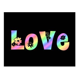 Amor del Hippie Postales