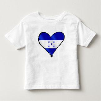 Amor del Honduran - regalos de la bandera de Camiseta De Bebé
