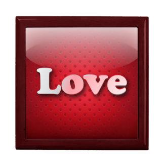 Amor del icono de Giftbox Caja De Joyas
