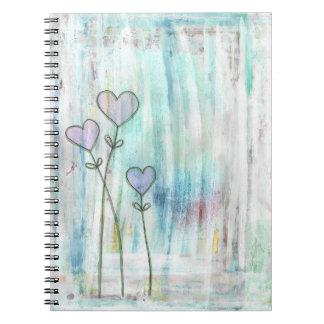 amor del invierno libro de apuntes con espiral