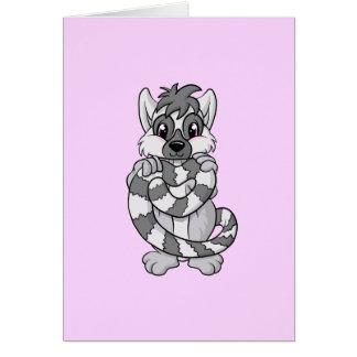 ¡Amor del Lemur! Tarjeta