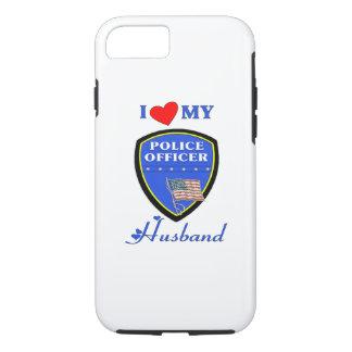 Amor del marido de la policía funda iPhone 7