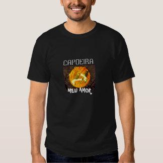 amor del meu del capoeira mis artes marciales del camiseta