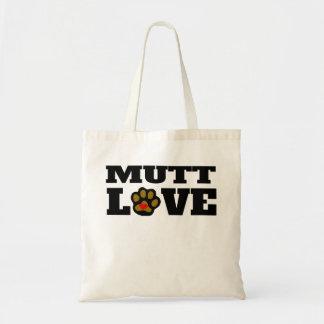 Amor del Mutt Bolsa Tela Barata
