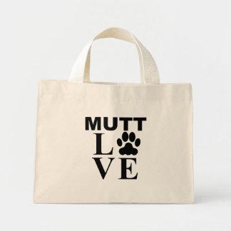 Amor del Mutt Bolsa Tela Pequeña