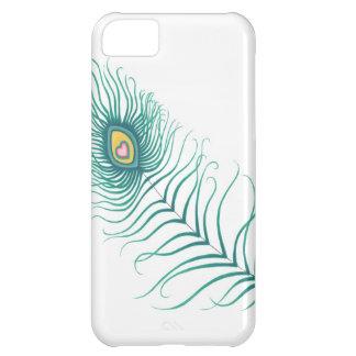 Amor del pavo real funda para iPhone 5C