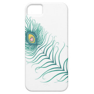 Amor del pavo real iPhone 5 Case-Mate protector