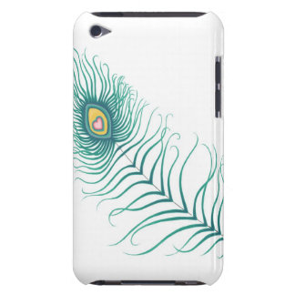 Amor del pavo real iPod touch protector
