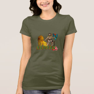 AMOR del reggae Camiseta