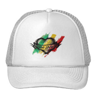 Amor del reggae uno de Cori Reith Rasta Gorros Bordados