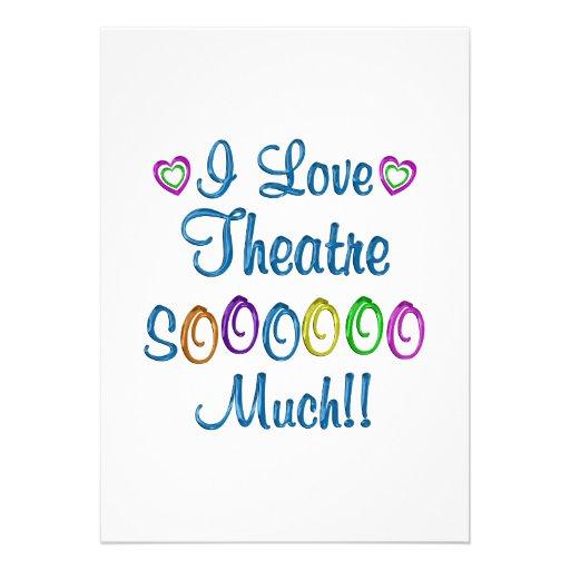 Amor del teatro tanto comunicados personales