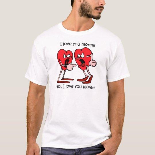 Amor divertido camiseta
