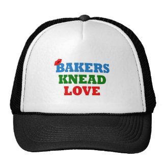 Amor divertido de la necesidad de los panaderos (a gorras