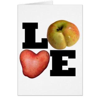 AMOR - el día de San Valentín 1 de saludo Tarjeta De Felicitación