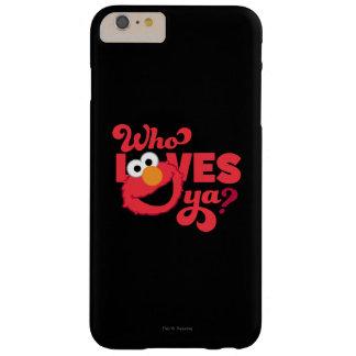 Amor Elmo Funda Para iPhone 6 Plus Barely There