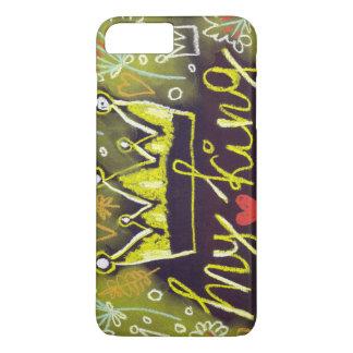 Amor en colores pastel mi iphone del rey apenas funda iPhone 7 plus