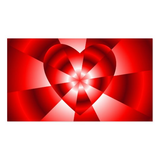 Amor en el disfraz - resplandor roja plantilla de tarjeta de negocio