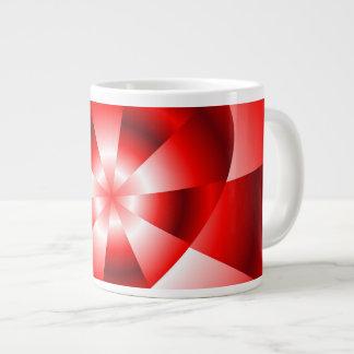 Amor en el disfraz - resplandor roja taza grande