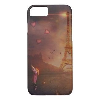 Amor en París Funda Para iPhone 8/7