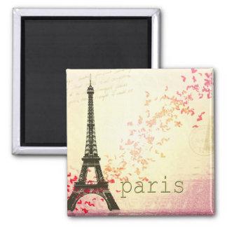 Amor en París Imán De Nevera